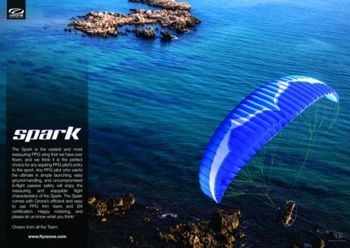 Ozone Spark, The perfect introduction to Paramotoring