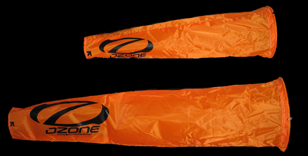 Ozone High Visibility Orange Windsocks