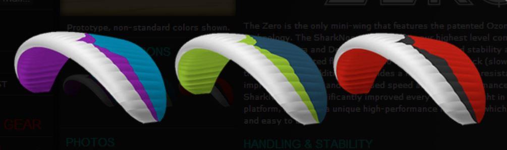 zero colours